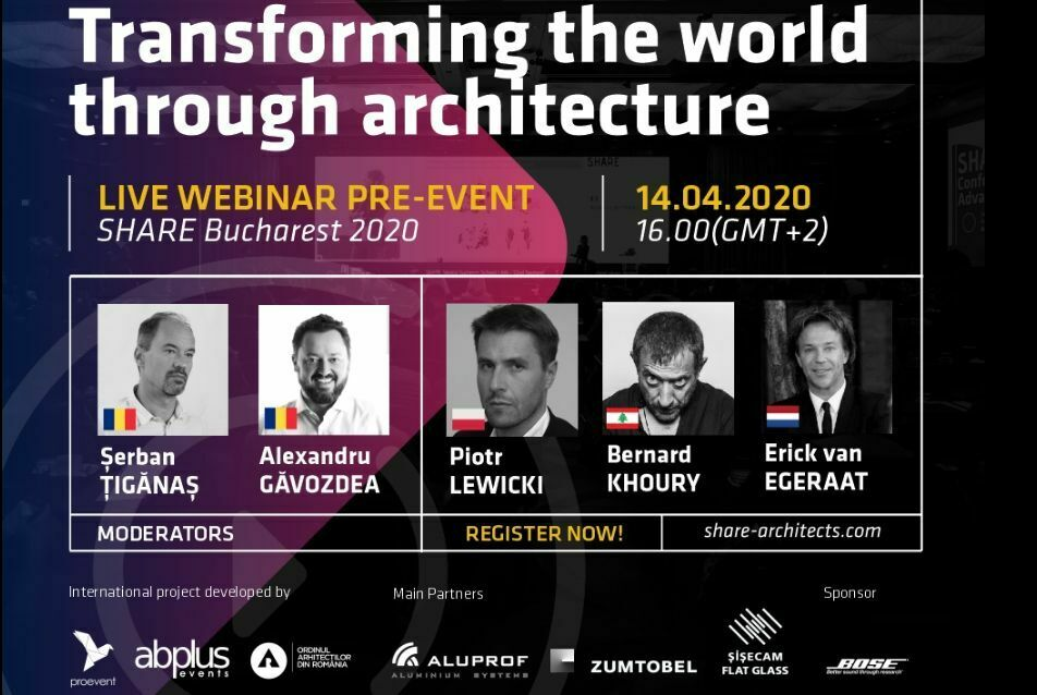 SHARE Architects - online konferencia / Bukarest