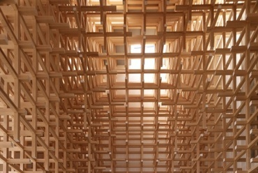 Kengo Kuma - Prostho Museum Research Center - fotó: Daici Ano