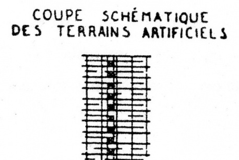 16. Le Corbusier, Plan 'Obus' section
