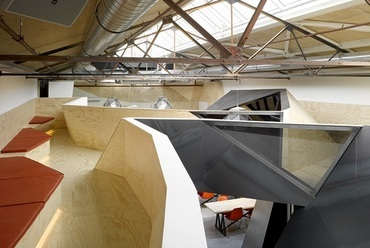 Sid Lee Architecture: Red Bull iroda, Amszterdam. Forrás: Sid Lee Architecture