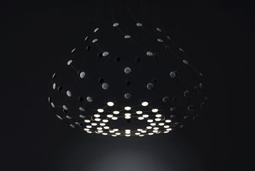 LED Mesh 2015, Francisco Gomez Paz - Luceplan, forrás: abitare.it