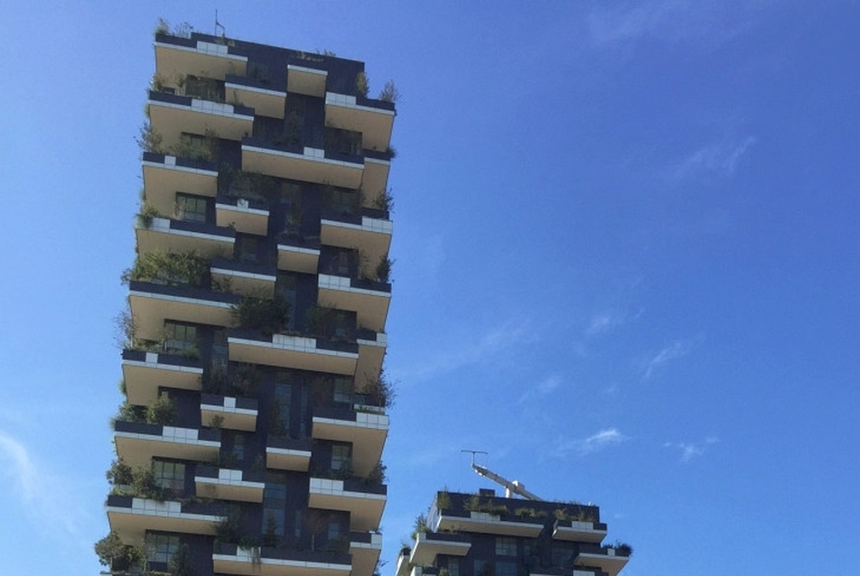 Bosco Verticale - forrás: AGC Glass Europe copyright