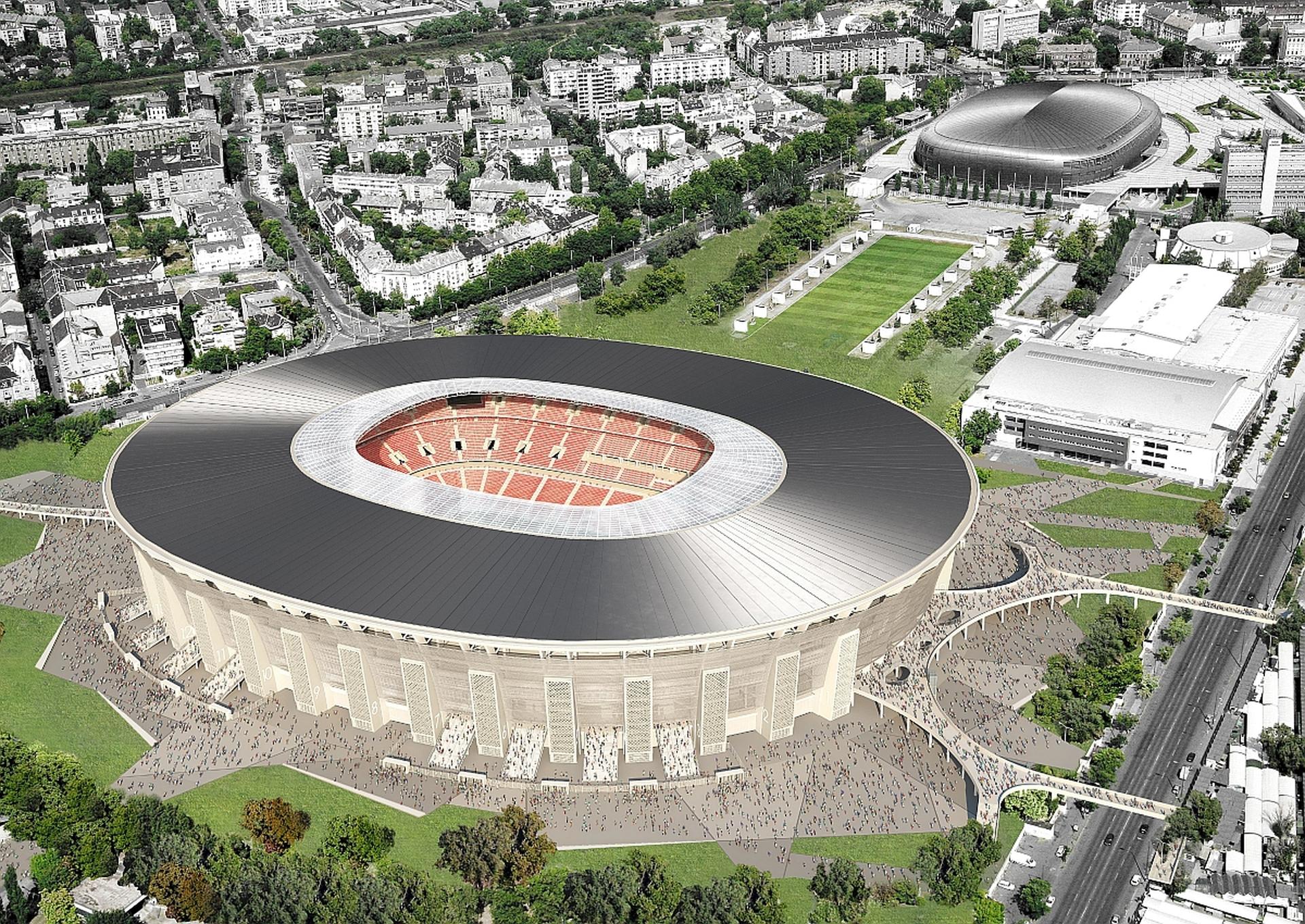 Puskás Ferenc Stadion az új nemzeti stadion