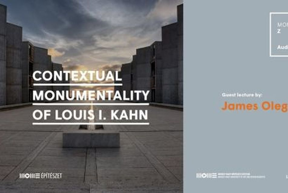 James Oleg Kruhly (és Louis Kahn) a MOMÉ-n
