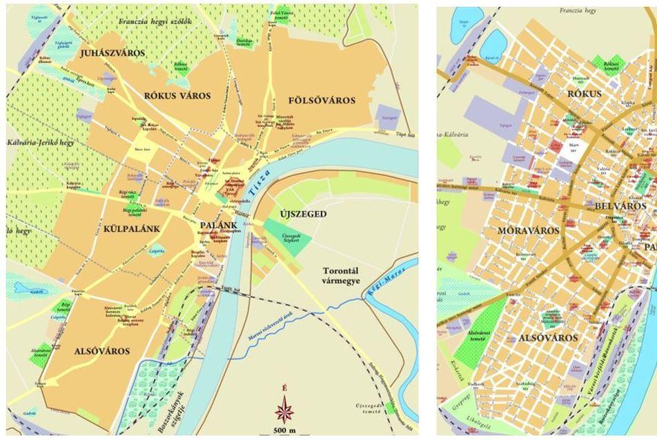 Szeged A Feloldalas Varos