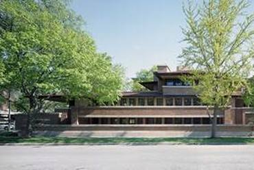 Frederick C. Robie-house, Chicago, Illinois. Fotó: UNESCO