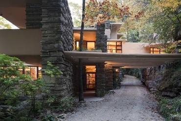 Fallingwater, Mill Run, Pennsylvania. 1935. Fotó: UNESCO