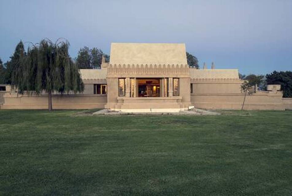 Hollyhock House, Los Angeles, California. 1921. Fotó: UNESCO