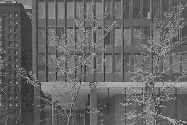 Chicago Federal Center (1959–1964) - fotó: Bonta János: Ludwig Mies van der Rohe
