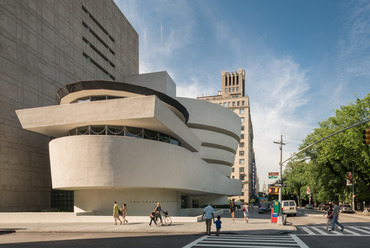 Solomon R. Guggenheim Museum, New York - fotó: David Heald / The Solomon R. Guggenheim Foundation, New York