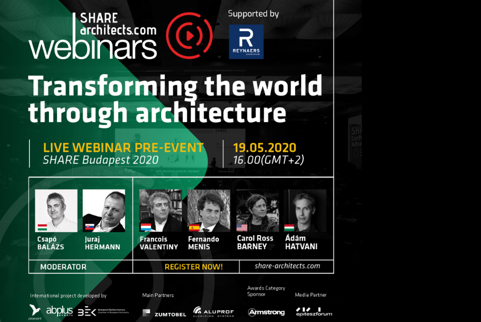 SHARE Architects - online konferencia / Budapest
