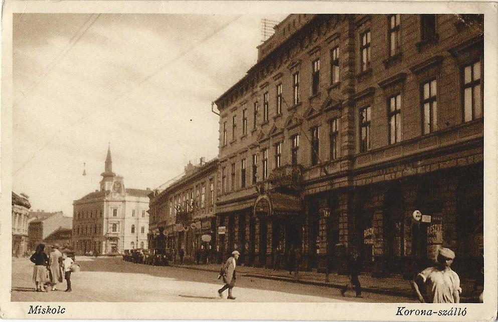 A szálló az 1940-es években. Forrás: www.kitervezte.hu