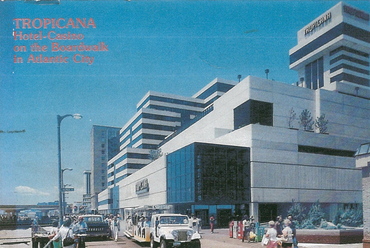 Tropicana Hotel, Atlantic City, New Jersey, 1984–1986