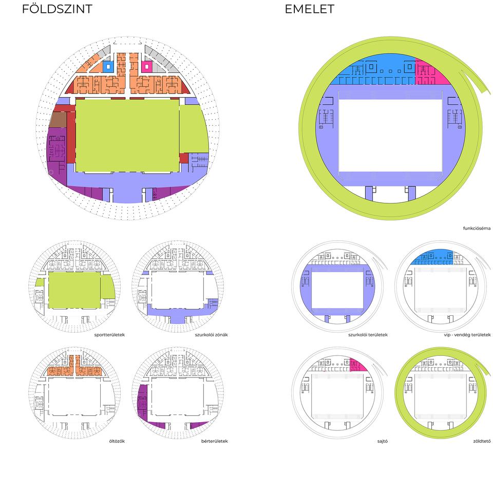Hajdúszoboszló, multifunkcionális rendezvénycsarnok – építészek: Juhász-Nagy Balázs és Zsiros Renáta