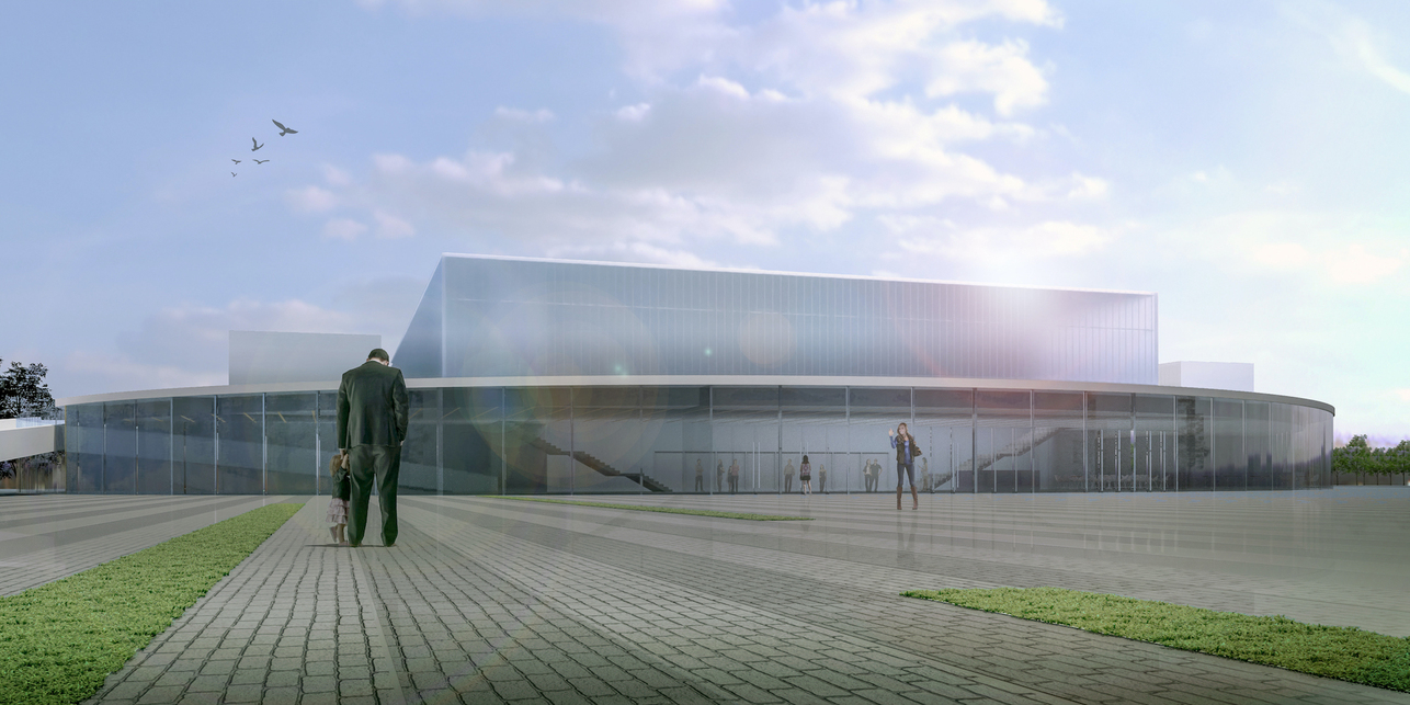 Hajdúszoboszló Multifunkciós Rendezvénycsarnok – építész: Stúdió´100