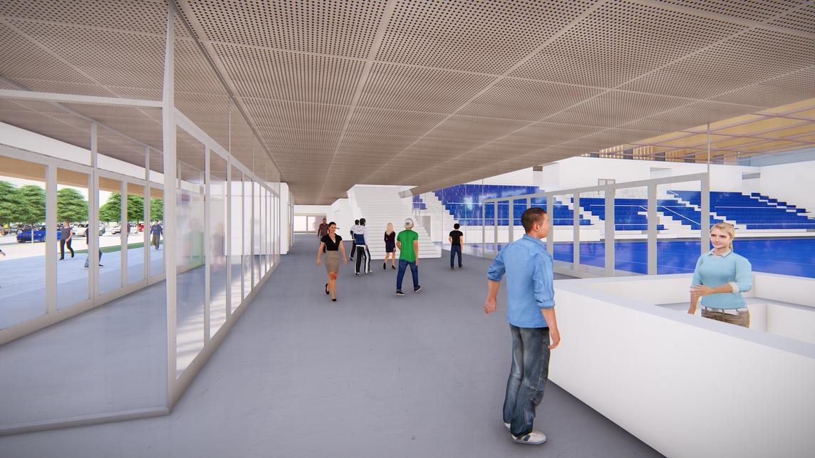 Hajdúszoboszlói Multifunkcionális Rendezvénycsarnok – építész: Wéber József / Wéber Építésziroda