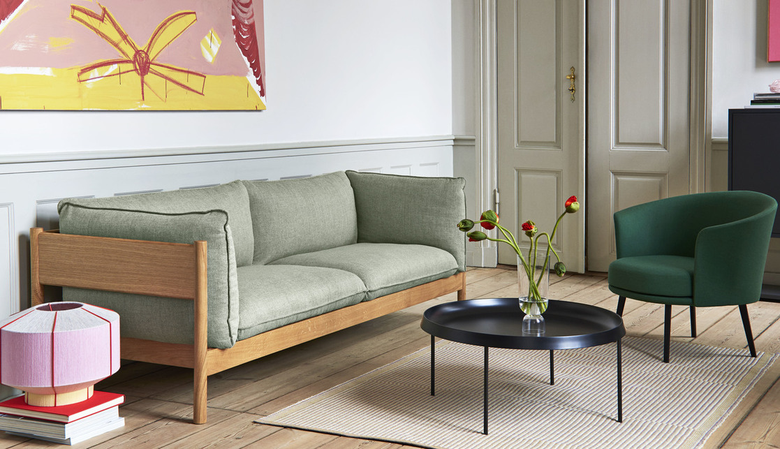 Arbour 3 Seater. Andreas Engesvik és Daniel Rybakken terve. Forrás: Europa Design