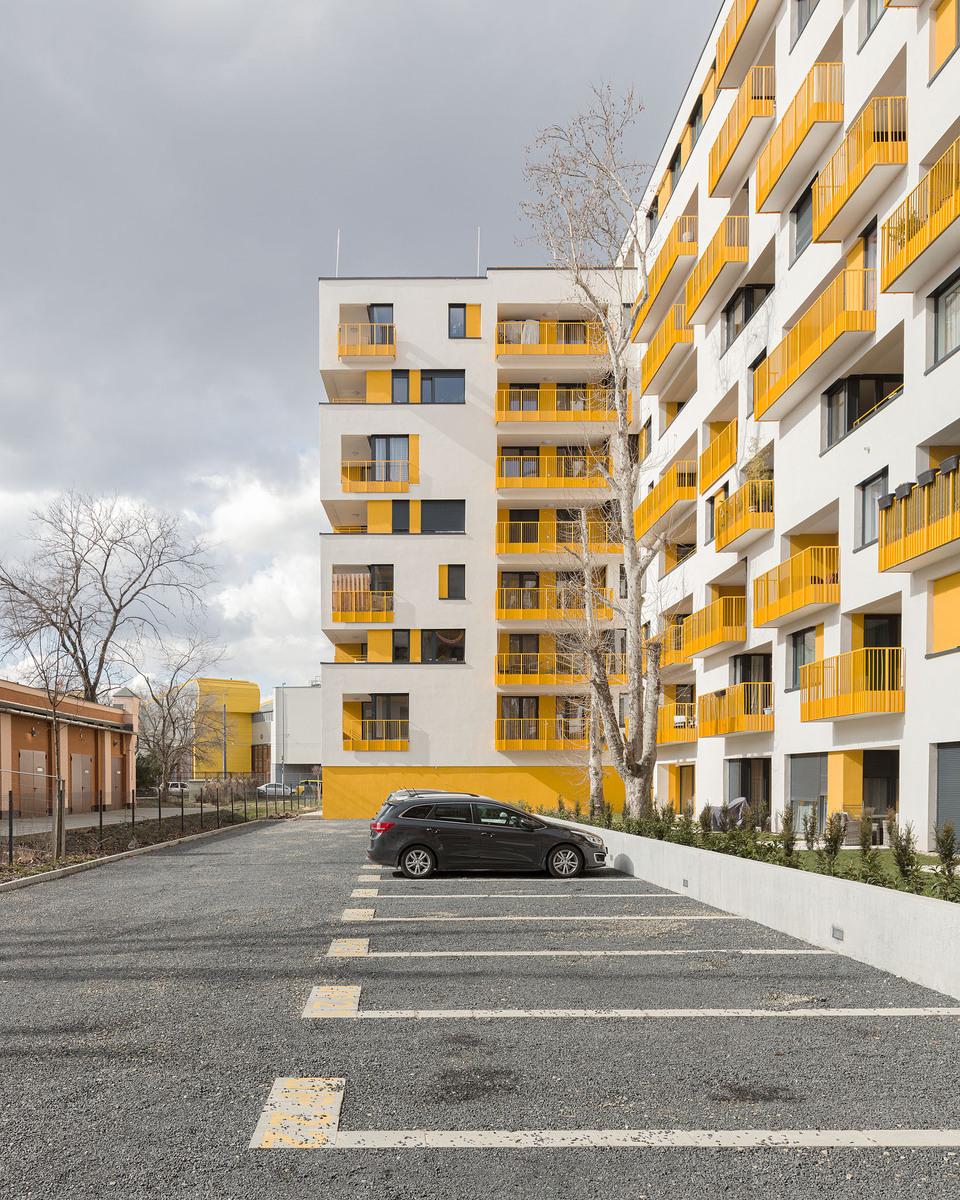 Tetris ház. Terv: FBIS architects. Fotó: Danyi Balázs