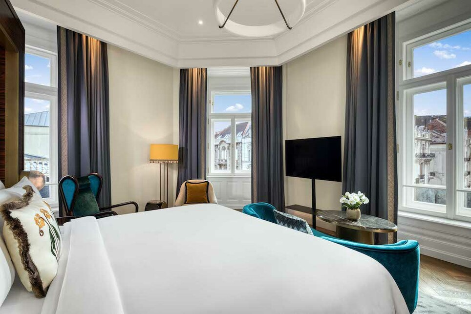 Forrás: Matild Palace, a Luxury Collection Hotel