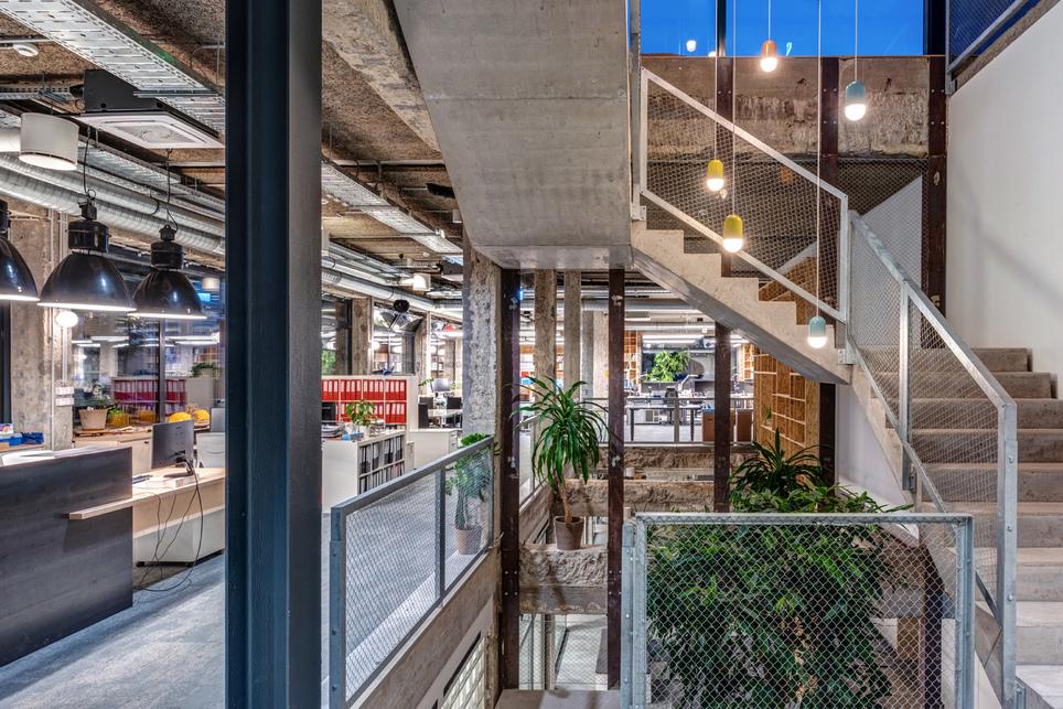 A Bánáti + Hartvig Építész Iroda új irodája - fotó: Gulyás Attila