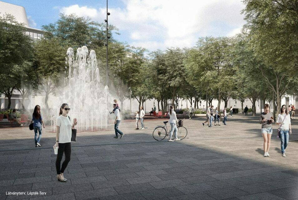A Blaha Lujza tér felújításának új látványtervei
